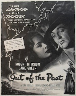Out of the Past Poster Large